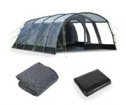 Kampa Hayling 6 Pole Tent 2020 (Incl Carpet & Footprint)